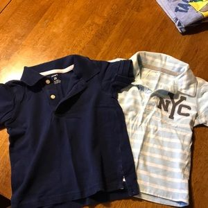 Carters polos (and matching short)